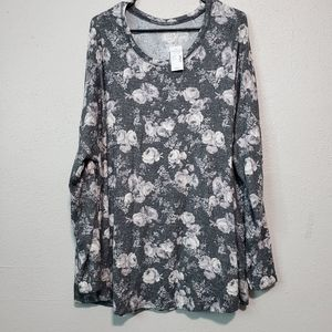Maurices floral top super soft